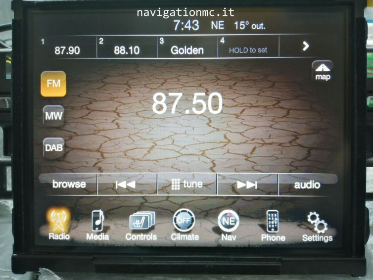 Radio Nav Jeep VP4EU 8,4″